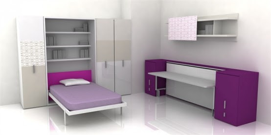 Clever Space Saving Ideas for Small Room Layouts | DigsDigs