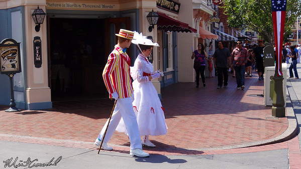 Disneyland Resort, Disneyland, Main Street U.S.A., Mary Poppins, Burt
