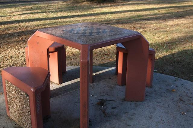 Chess Table, Laurelwood Park