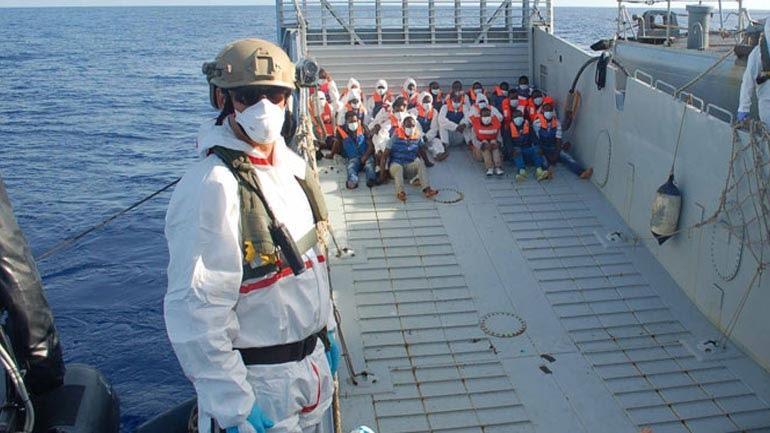 Διασώθηκαν περισσότεροι από 4.200 μετανάστες στη Μεσόγειο