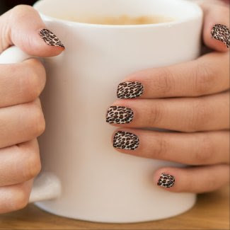 Wild and Stylish Leopard Print Minx® Nail Wraps