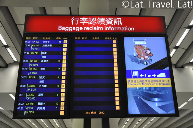Baggage Reclaim Information Display
