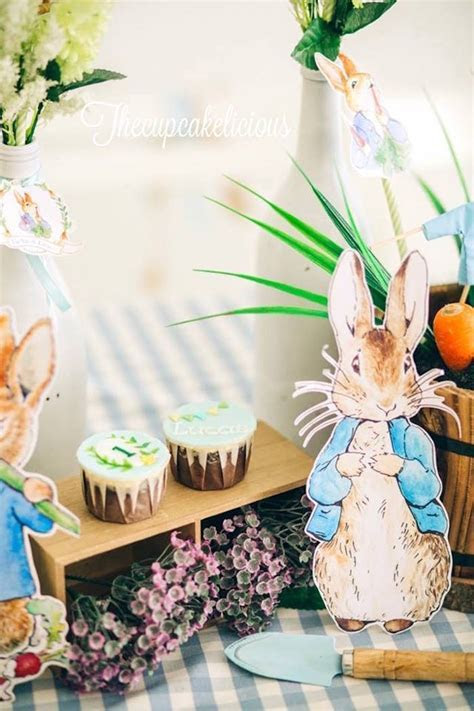 Kara's Party Ideas Beatrix Potter Peter Rabbit Birthday