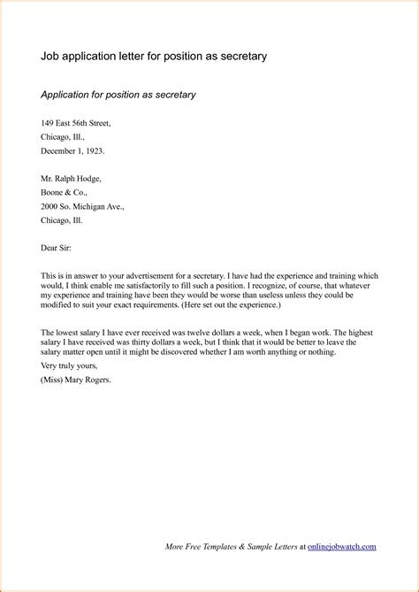 write  cover letter   job applications