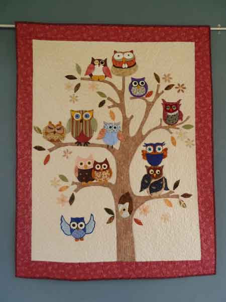Image result for free owl quilting pattern