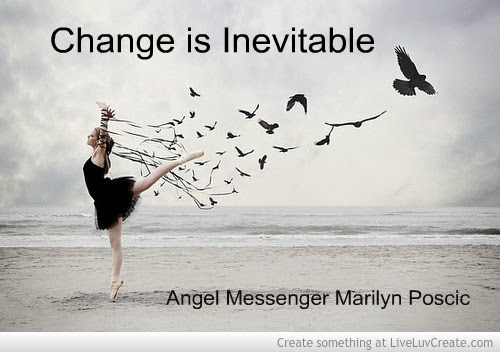 Change Is Inevitable Angel Messenger Psychic Medium Intuitive