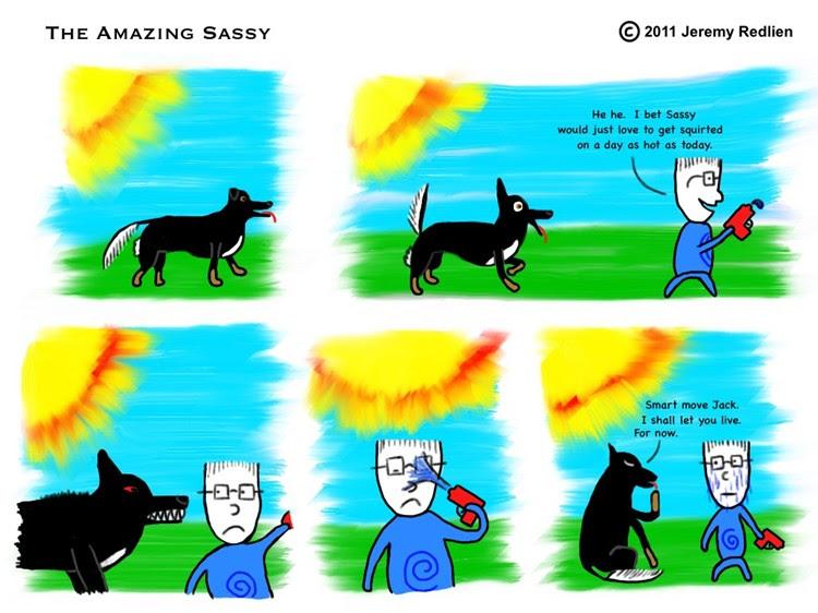 The Amazing Sassy - Getting Wet