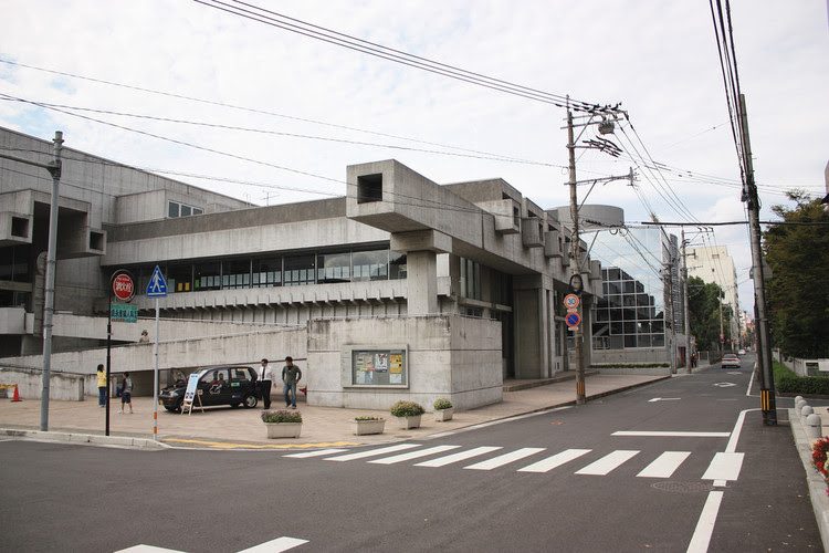 Ōita Prefectural Library, 1966, now Ōita Art Plaza. Image © Flickr user kentamabuchi licensed under CC BY-SA 2.0