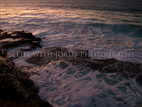 High Tide at the Bogey Hole by Life with Jordy