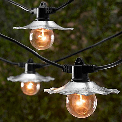 Café String Lights - contemporary - outdoor lighting - by Ballard