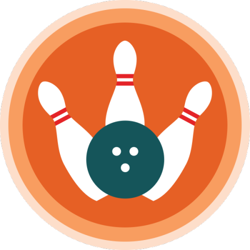 Lifescouts: Bowling Badge If you have this badge, reblog it and share your story! Look through the notes to read other people's stories. Click here to buy this badge physically (ships worldwide). Lifescouts is a badge-collecting community of people who share real-world experiences online.
