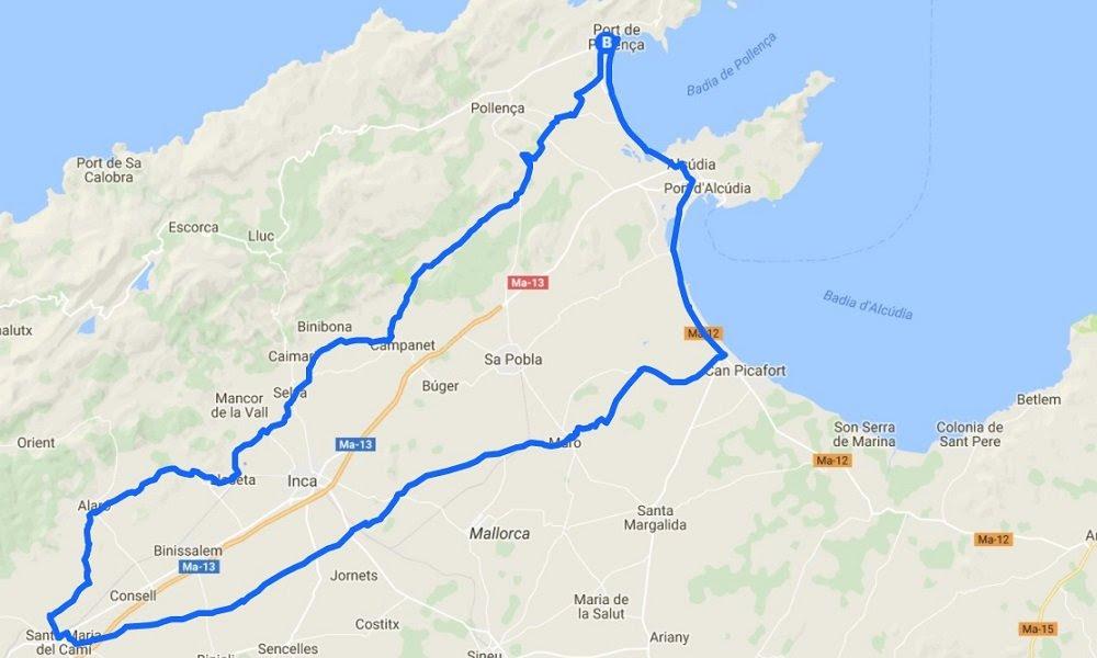 Santa Maria Del Cami Cycling Ride Bike Island Mallorca