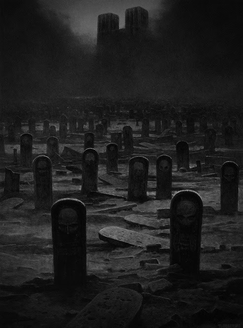 Why were the old tombstones replaced with these? Who are they? Will they be rising up? Sounds like a great story. There's a story behind every picture.