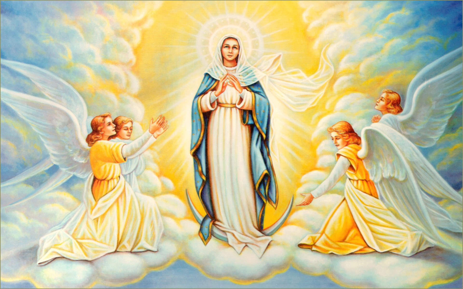 Blessed Virgin Mary Wallpaper 59 Images