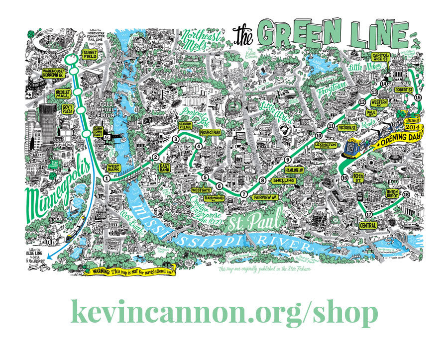 http://stuffaboutminneapolis.tumblr.com/post/99079064514/kevincannonart-the-green-line-map-is-now