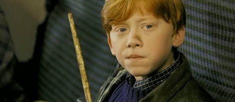 Ron in The Philosopher's Stone
