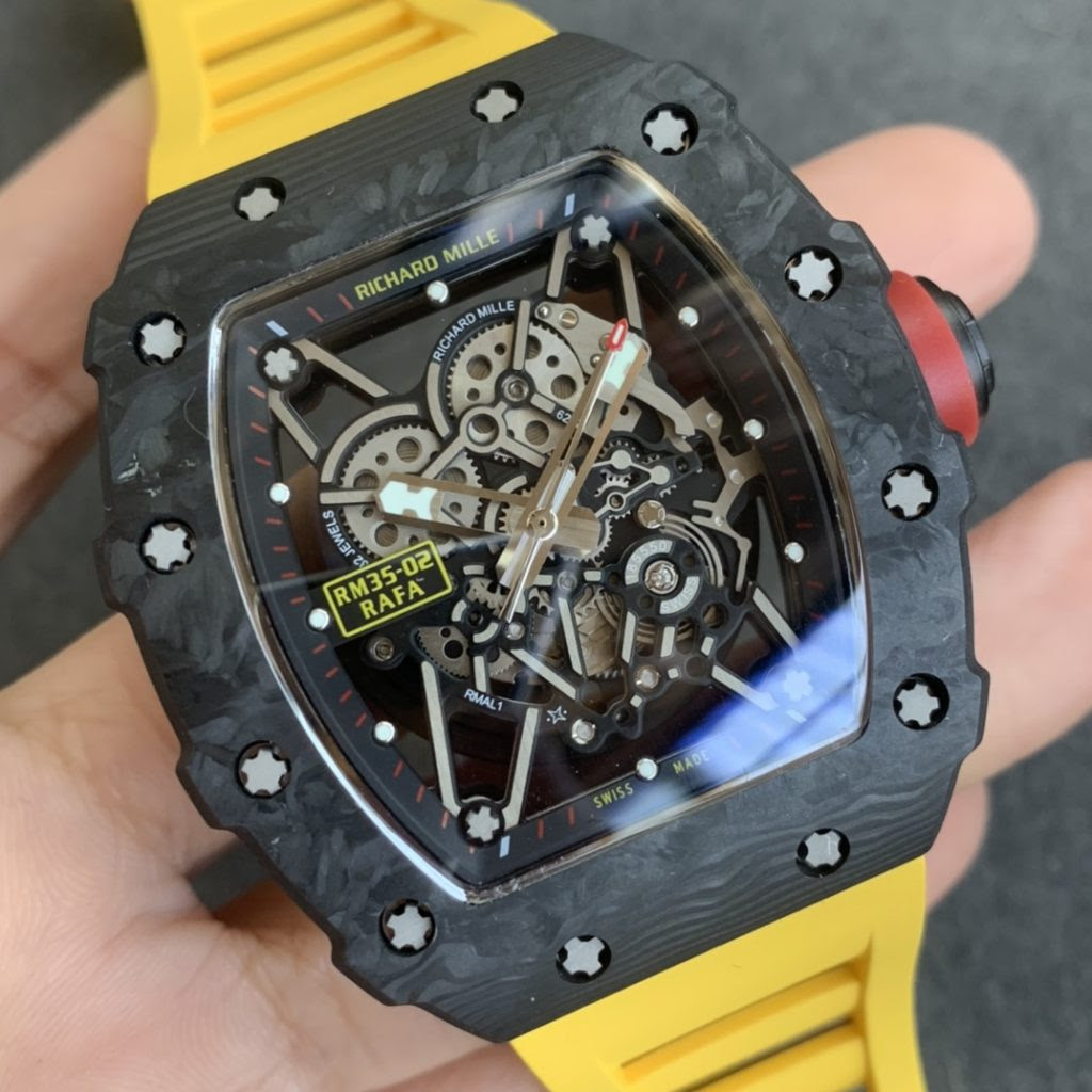 Replica Richard Mille RM35-02 Forged Carbon