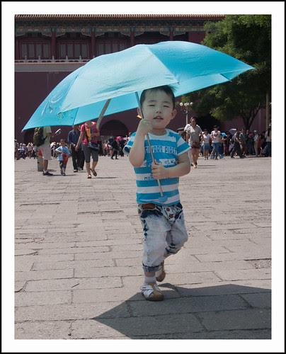 Chinees jongetje by hans van egdom