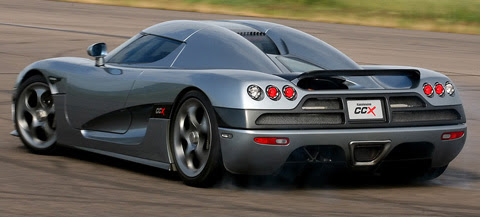 Koenigsegg CCX side view