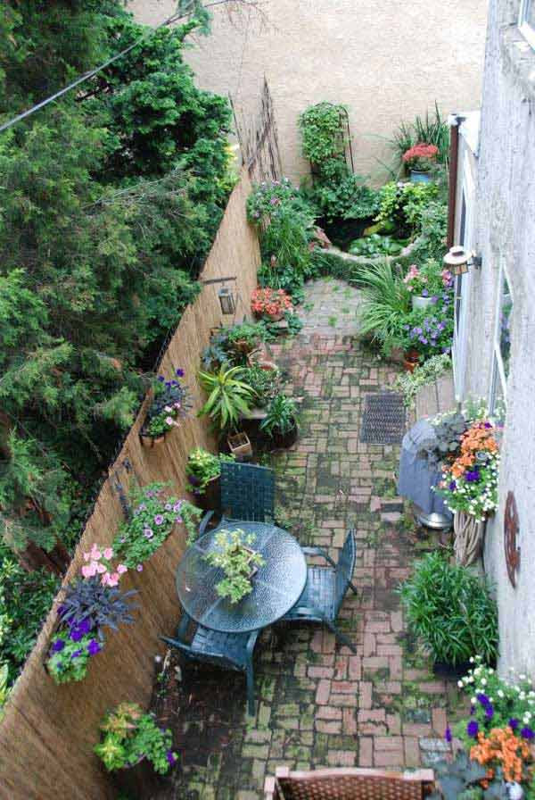 Garden Design For Long Narrow Garden Prettyretty Garden