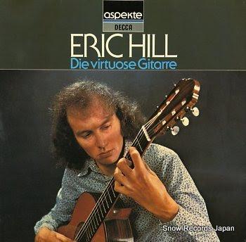 HILL, ERIC die virtuose gitarre