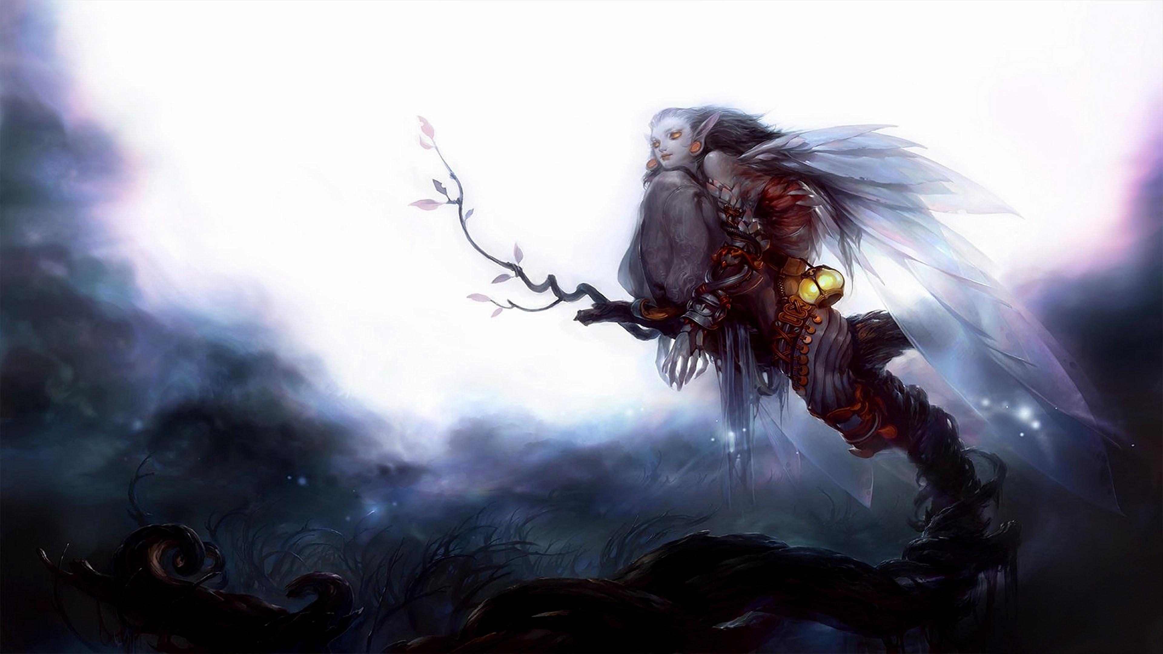 Fairy Wallpaper For Desktop | PixelsTalk.Net