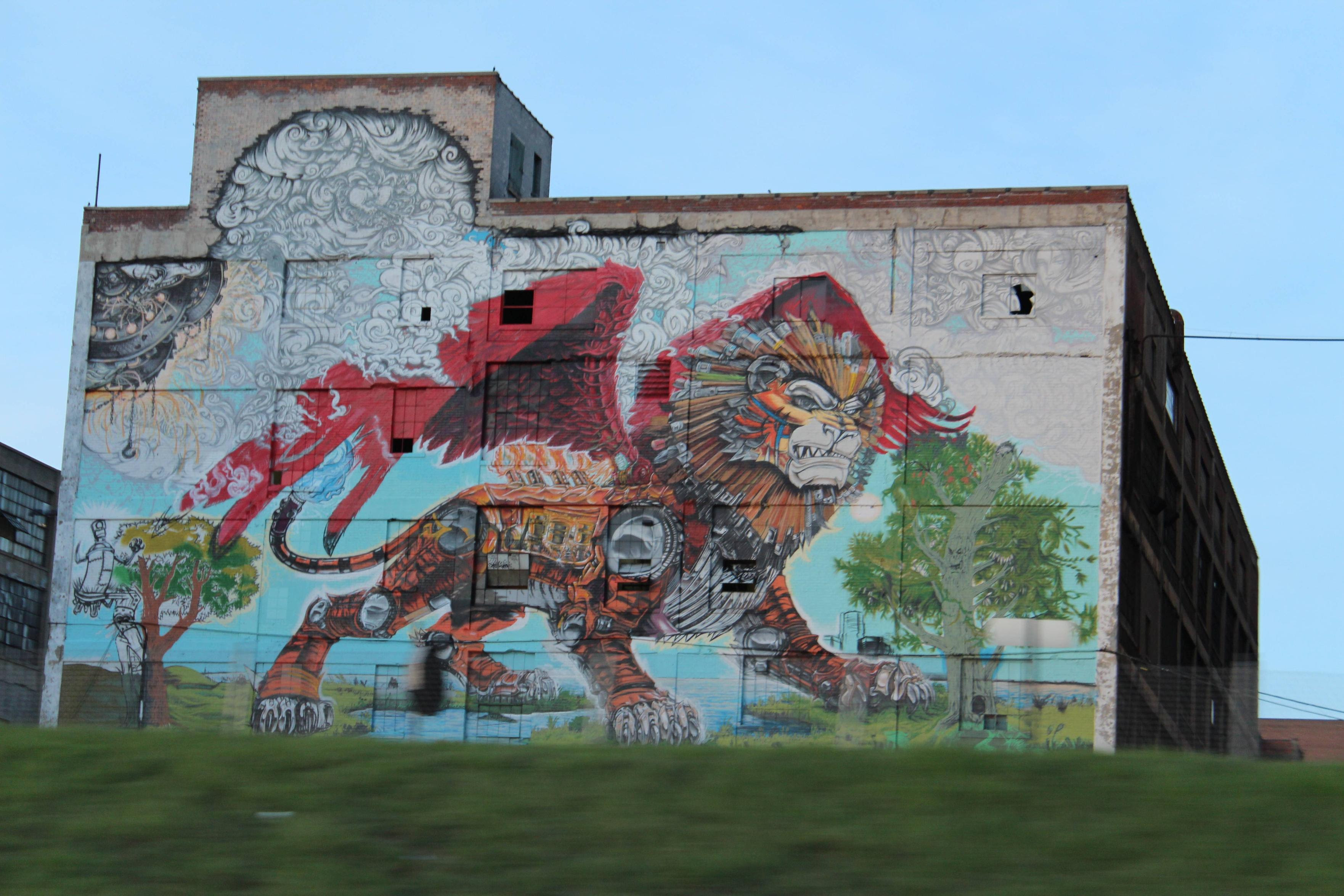 Picture Of The Day The Spirit Of Detroit Twistedsifter