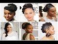 Kenyan Bridesmaids Hairstyles