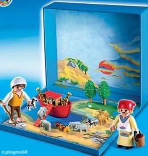 Micro Playmobil Noah's Ark