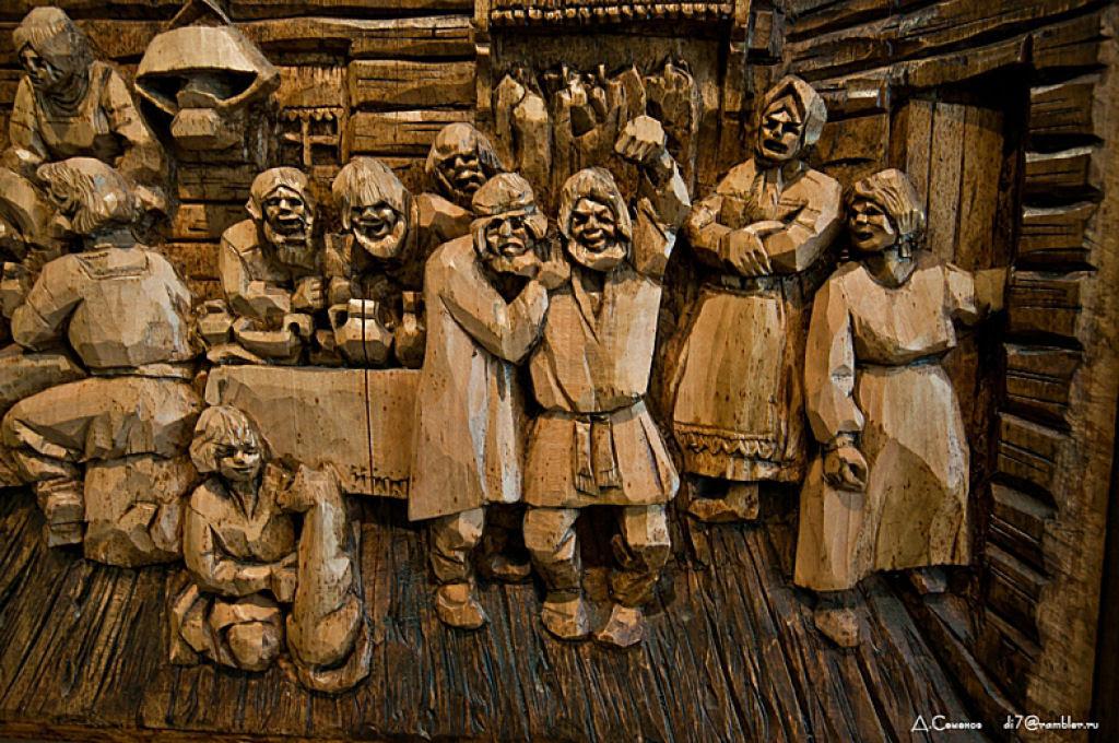 As incríveis pinturas esculpidas de Kronid Gogolev 33