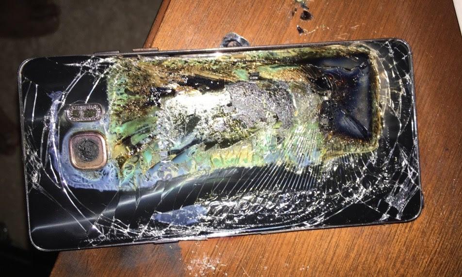 اخيرا تم حل مشكلة انفجار نوت 7 بعد فشل ذريع لشركة سامسونغ ولا يتعلق الامر بالبطارية !!