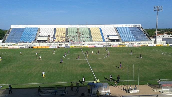 Horizonte x Fortaleza, no Estádio Domingão, Cearense  (Foto: Roberto Leite )