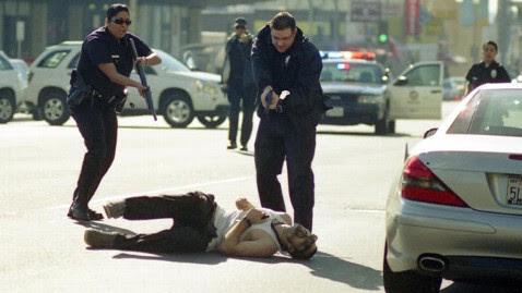 ap hollywood shooting scene jef 111213 wblog Victim of Hollywood Shooting Rampage Dies