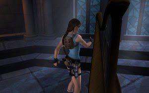Screenshot of Lara in Tomb Raider: Anniversary for Mac
