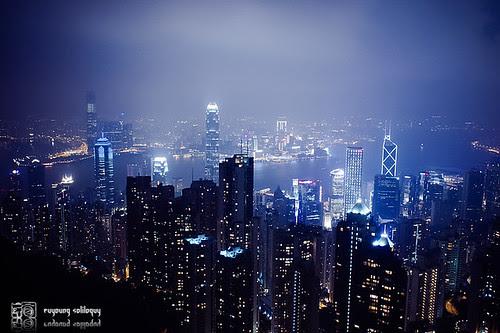 人人都是觀光客系列 - 太平山夜景 @Hong Kong
