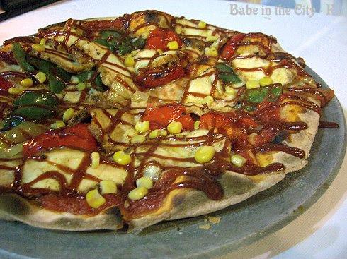 "B-B-Q Chicken Pizza RM 19 (8"") RM 24 (11"")"