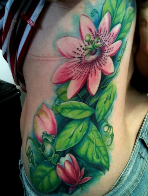 Pictures Of Lily Pad Flower Tattoo Rock Cafe