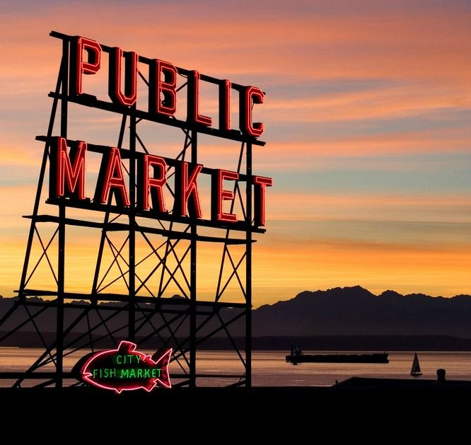 Bildergebnis für pike place market