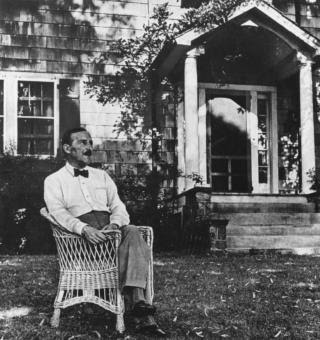 Stefan Zweig in Ossining, New York, in 1941, seven years after he fled the ascendant Nazism of Europe.