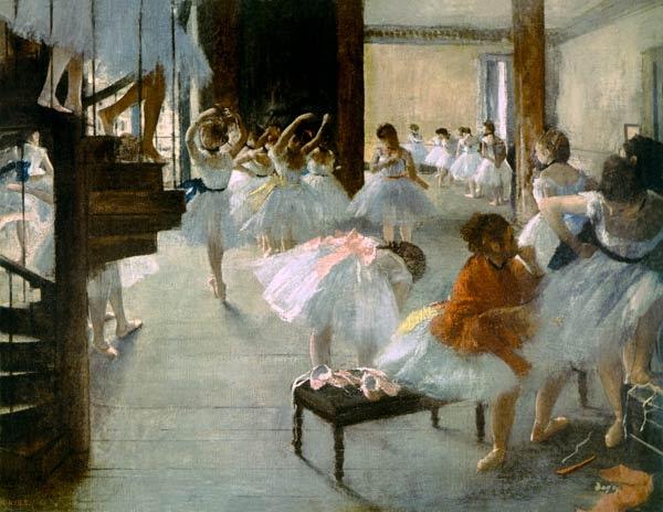 Edgar Degas - Escuela de Ballet