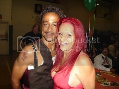 Jose Xtravaganza and Patricia Field