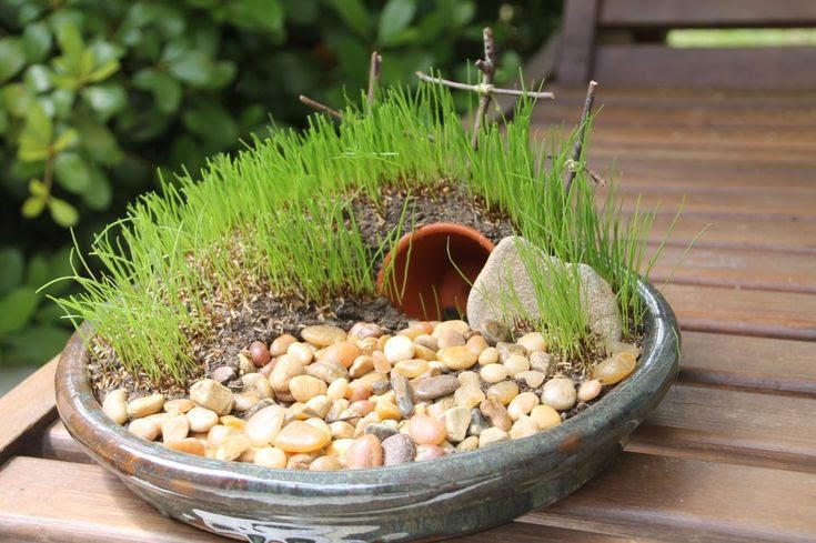 Ressurection garden--great activity to do with the kids the week of easter (this week!)