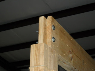 Barn Loft Cross Beam End