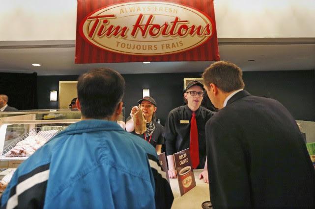Tim Hortons ouvrira des établissements au Mexique, soit sa première incursion... (PHOTO PETER JONES, ARCHIVES REUTERS)