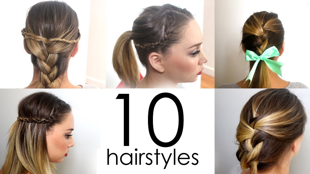 Cute Easy Ways To Do Your Hair For School Carolin Style