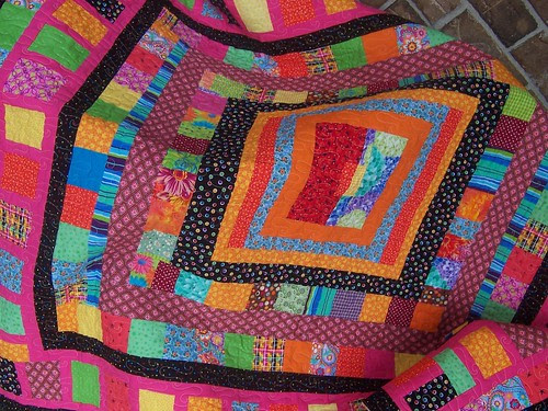 my first finished quilt