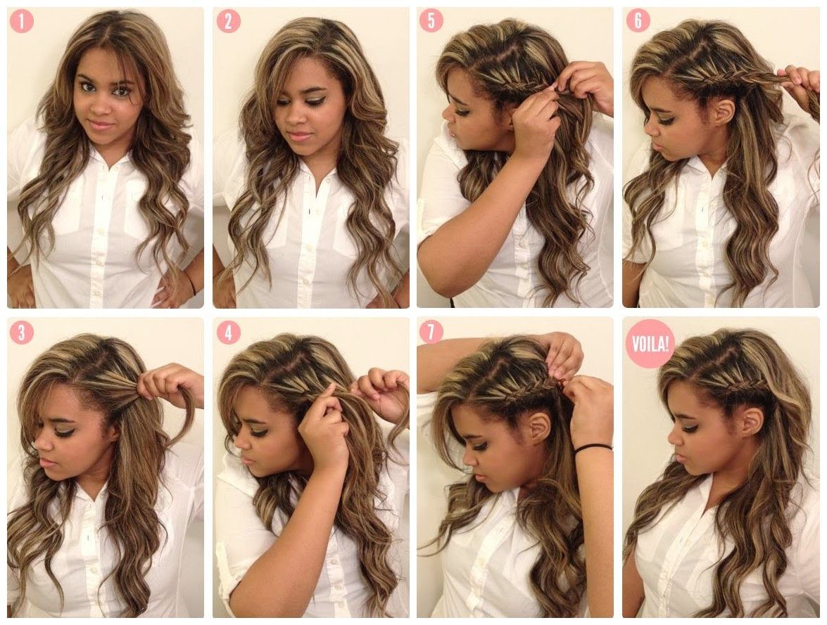 Coiffure Mariage Simple A Faire Soi Meme Ivory Hairstyle