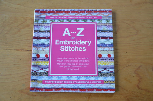 A-Z Embroidery Stitches giveaway