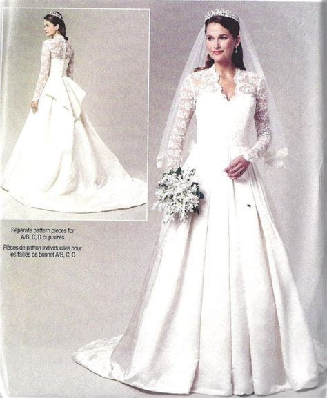 Wedding Dress Gown Plus Size Sewing Pattern, Kate