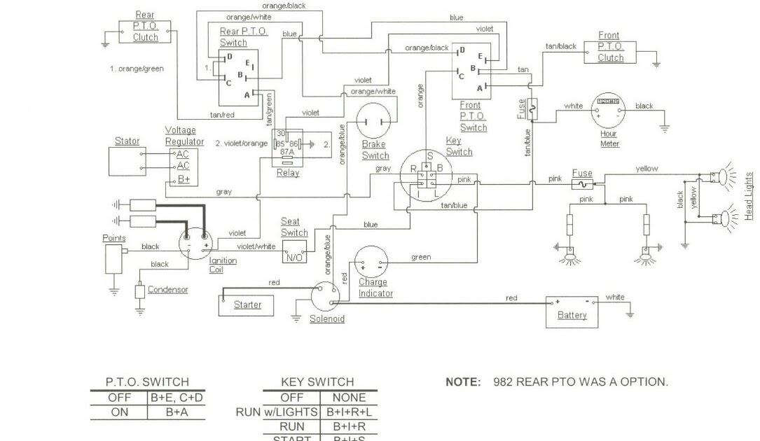 Autosportswiring  Cub Cadet 2182 Wiring Diagram